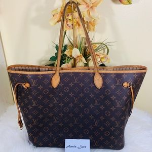 Authentic Louis Vuitton: Neverfull GM Monogram